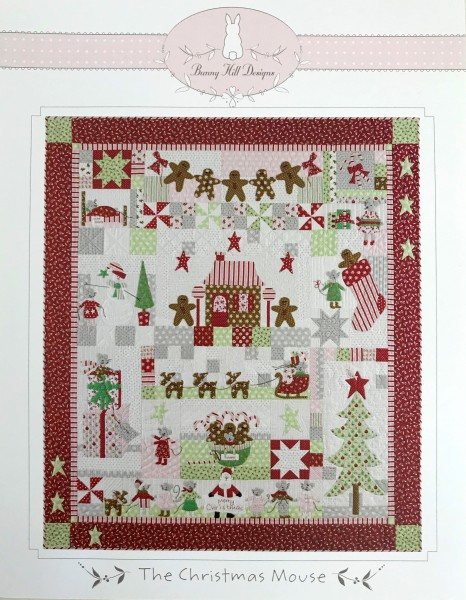 Block of the month - Christmas Mouse