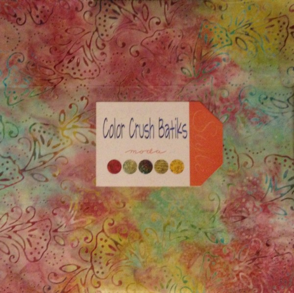Layer Cake Color Crush Batiks
