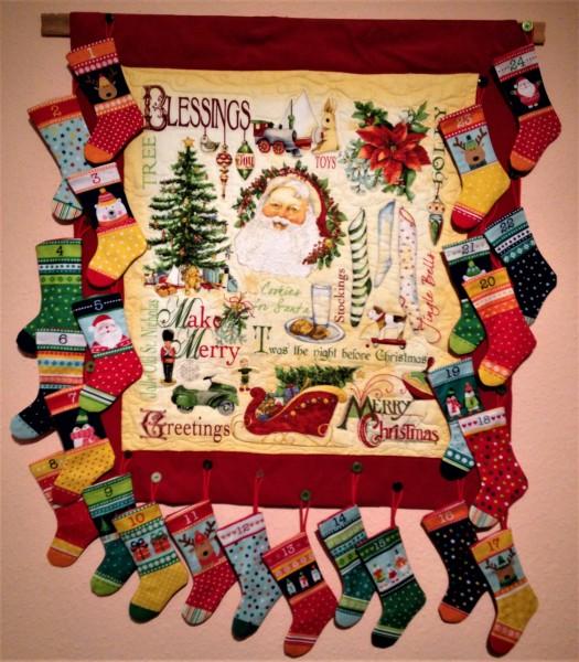 Nähen für Advent und Weihnachten 17.11.