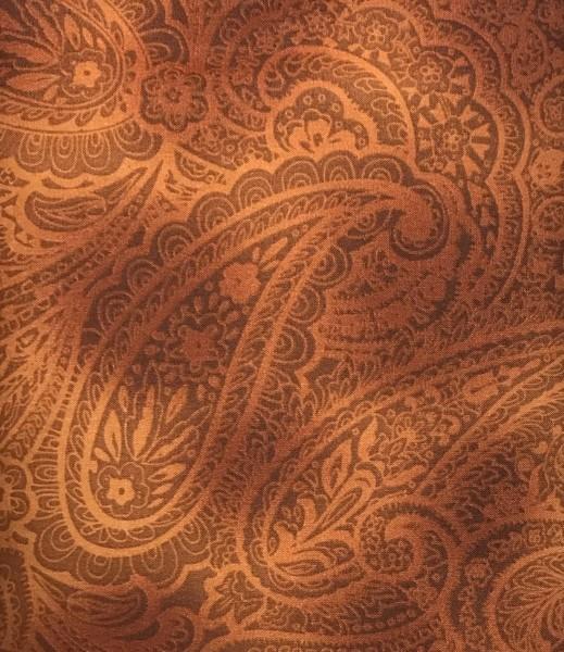 Radiant Paisley rotbraun