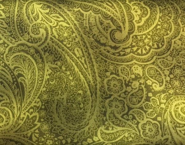 Radiant Paisley grün