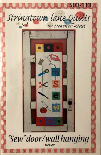 """""""Sew"""" Door/Wall hanging"""