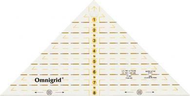Flottes Dreieck 1/4 Quadrat