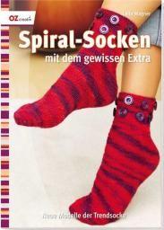 Spiral-Socken mit dem gewissen Extra
