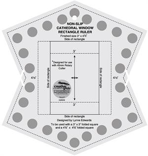 Cathedral Window Rectangle Ruler