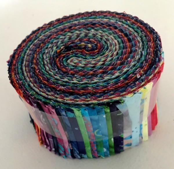 Jelly Roll - Flying Colors Batiks