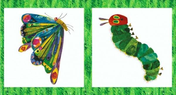 The Very Hungry Caterpillar - Raupe Nimmersatt