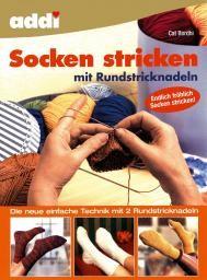 Socken stricken mit Rundstricknadeln
