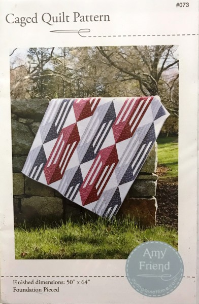Caged Quilt Pattern