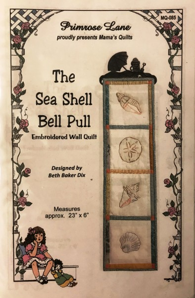 The Sea Shell Bell Pull