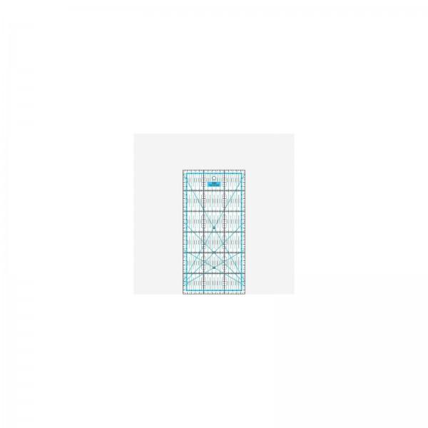 Lineal 30 x 15 cm blau